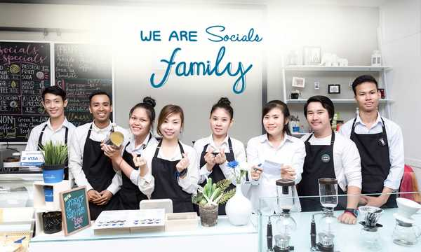 Cover photo of Socials Coffee