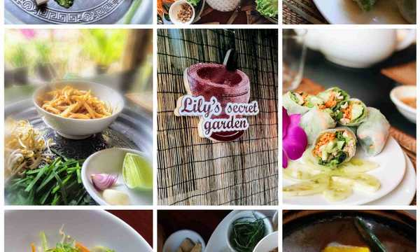 Cover photo of Lily's Secret Garden cooking class